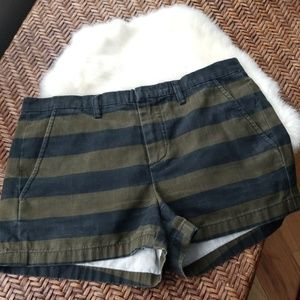 Madewell Striped Shorts